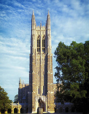 Duke University's Chapel Tower Poster by Mountain Dreams