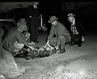 Dumping Whiskey In Mississippi 1951 Poster