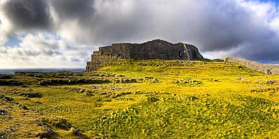 Dun Aonghasa - Iron Age Irish Ruins Poster by Mark E Tisdale
