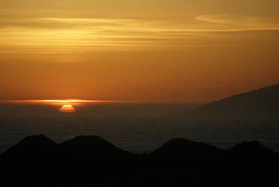 Dune Sunset 1 Poster