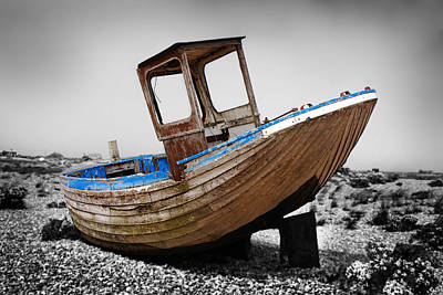 Boat Four Poster by Mark Rogan
