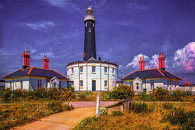 Poster featuring the photograph Dungeness Old Lighthouse by Chris Lord