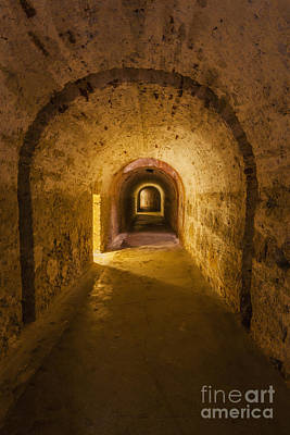 Dungeon At Castillo San Cristobal In Old San Juan Puerto Rico Poster