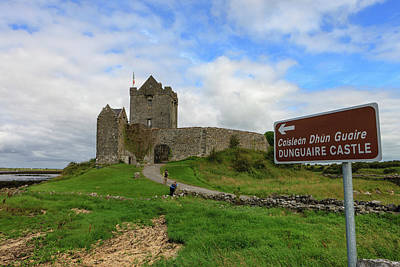 Dunguaire Castle Poster by Tom Norring