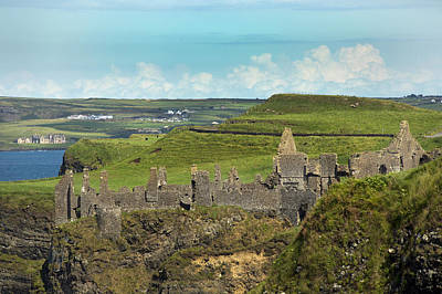 Dunluce Afternoon Ireland Poster by Betsy Knapp