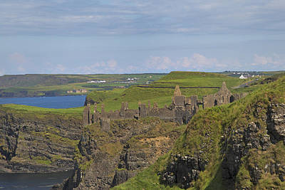 Dunluce Castle Ireland Poster by Betsy Knapp