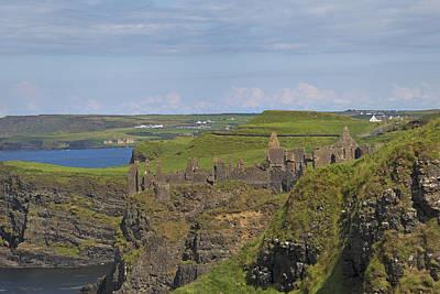 Dunluce Castle Ireland Poster