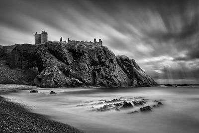 Dunnottar Castle 2 Poster by Dave Bowman