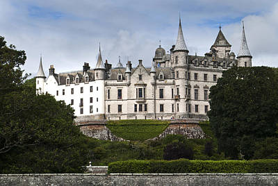 Poster featuring the photograph Dunrobin Castle Golspie Scotland by Sally Ross