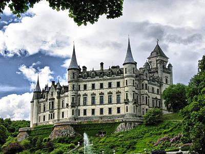 Dunrobin Castle Poster