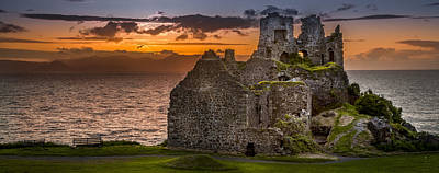 Dunure Castle Ayrshire Scotland Poster