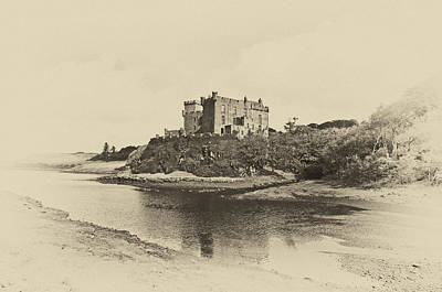 Dunvegan Castle Poster by Chris Thaxter