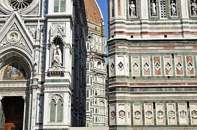Duomo Santa Maria Del Fiore Poster by Sami Sarkis
