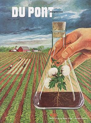 Dupont And Agricultural Research Poster by Hagley Museum And Archive