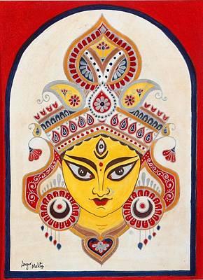 Durga Poster by Sagar M Mehta