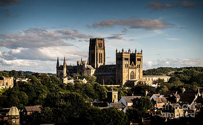 Poster featuring the photograph Durham Cathedral by Matt Malloy