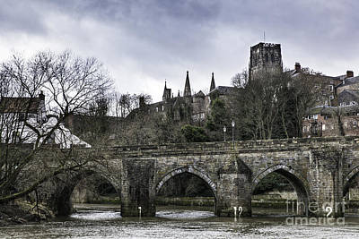 Durham City Bridge Poster by Philip Pound