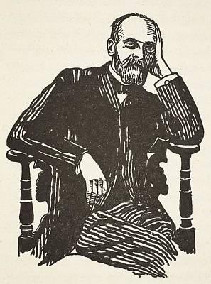 Emile Durkheim Poster by French School