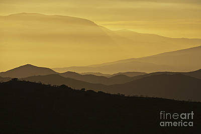 Dusk Over The Spanish Hills Of Andalusia Poster by Heiko Koehrer-Wagner