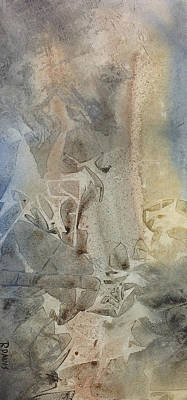 Poster featuring the painting Dust Drift by Rebecca Davis