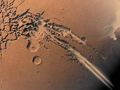 Dust Storms On Mars Poster