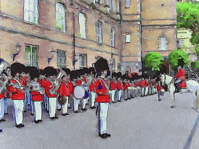 Dutch Royal Guards Poster