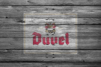 Duvel Poster by Joe Hamilton