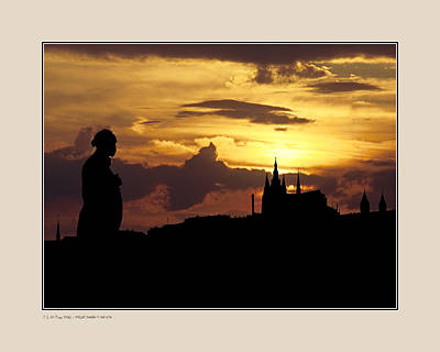 Poster featuring the photograph Dvorak And Skyline by Pedro L Gili