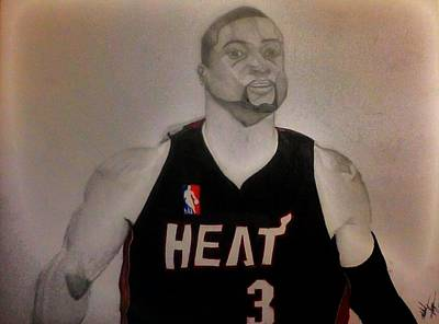 D.wade Poster by Michael Hugue