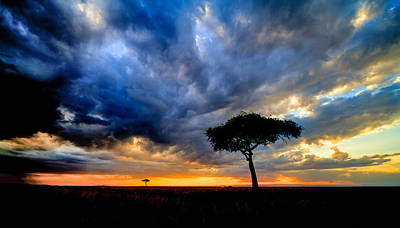 dynamic Mara sky Poster by Mike Gaudaur
