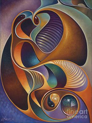 Dynamic Series #23 Poster by Ricardo Chavez-Mendez