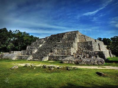 Dzibilchaltun Pyramid 002 Poster