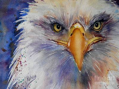 Eagle Eyes Poster by Patricia Pushaw