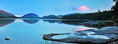 Eagle Lake Maine - Panoramic View Poster