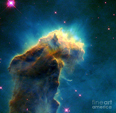 Eagle M16-ngc 6611-eagle Nebula Poster by Science Source