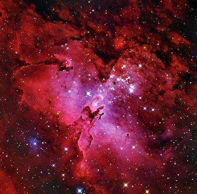 Eagle Nebula Poster by Adam Block/mount Lemmon Skycenter/university Of Arizona