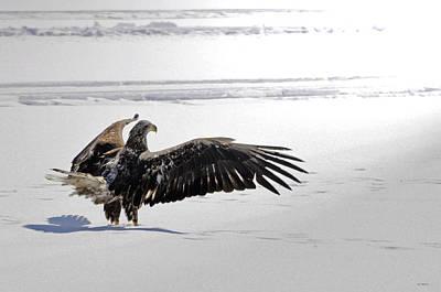Eagle Prayer Poster by RJ Martens