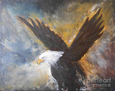 Eagle Spirit Poster by Jane  See