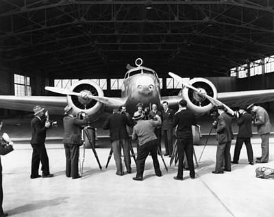 Earhart's Lockheed Electra Poster