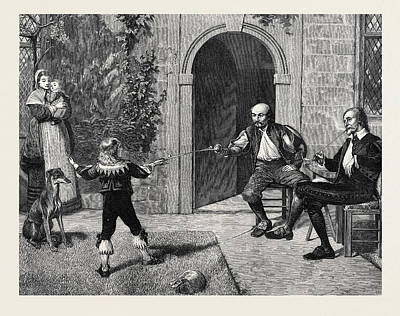 Early Lessons, 1874 Poster