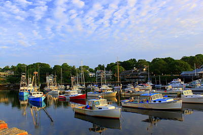 Early Morning At Perkins Cove Poster