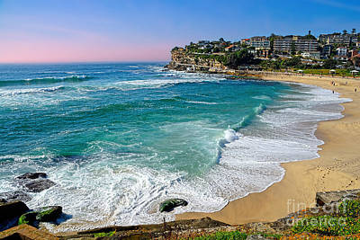 Early Morning Bronte Beach By Kaye Menner Poster by Kaye Menner