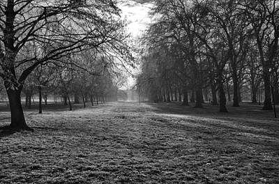 Early Morning In Hyde Park Poster
