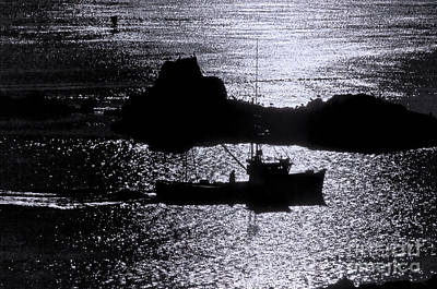 Early Morning Silhouette At Sail Rock Narrows Poster