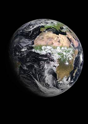 Earth Poster by European Space Agency/eumetsat