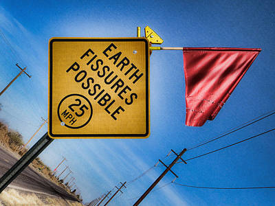 Earth Fissures Possible Poster