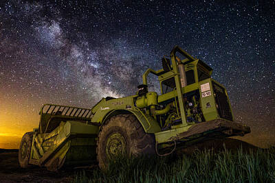 Earth Mover Poster by Aaron J Groen