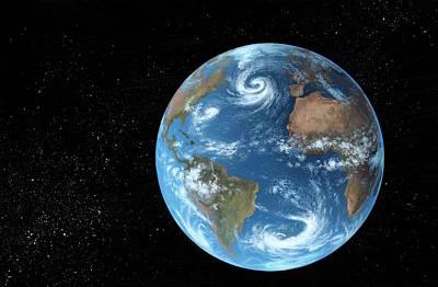 Earth Poster by Richard Bizley