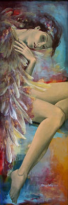 Earthly Feelings Poster by Dorina  Costras