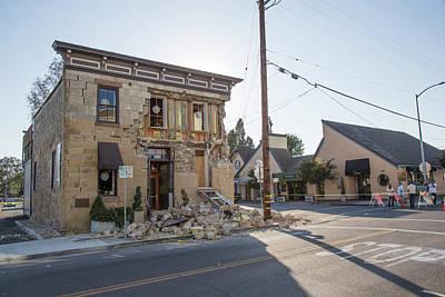 Earthquake Damage Poster